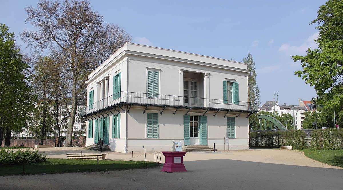 Neuer Pavillon Schloss Charlottenburg Krekeler Architekten